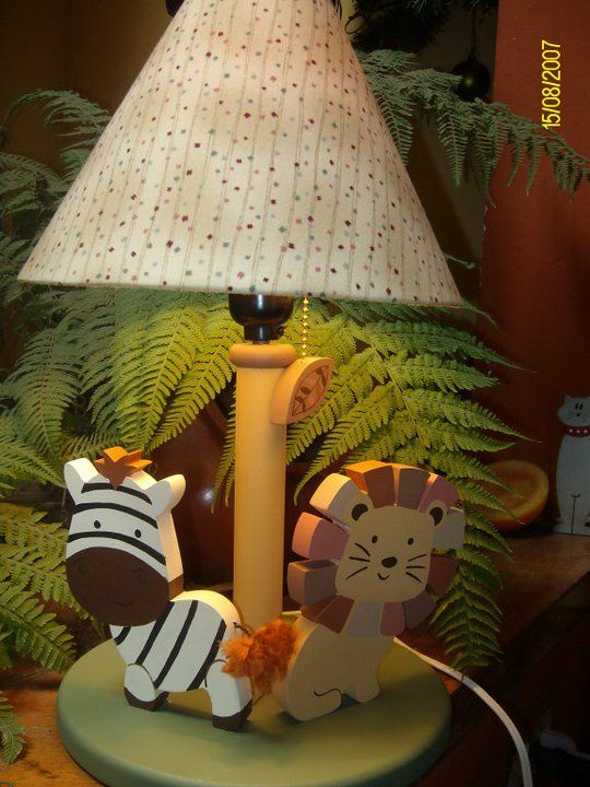 Jungle lamp based on Nali Jungle