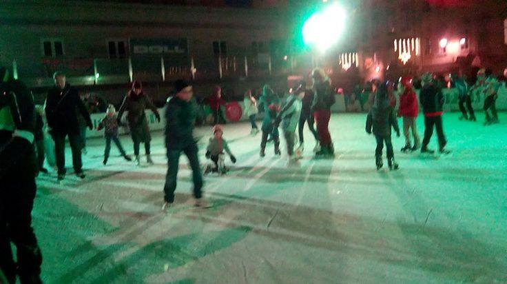 Ice skating in Salzburg