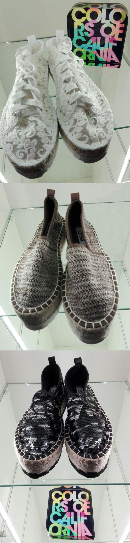 La scarpa estiva da donna per eccellenza, l'espadrillas con la zeppa in corda! Conforteveli e glamour, trova la scarpa giusta per le tue occasioni speciali o le serate con gli amici.