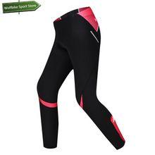 US $33.29 Santic MTB Cycling women pants downhill Ciclismo bike mountain pants women's sneakers tight Cycling Pink bike warmer trousers. Aliexpress product