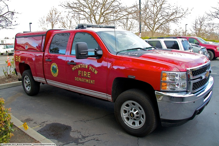 Fire Engine Battalion Chief Chevy Silverado Fire