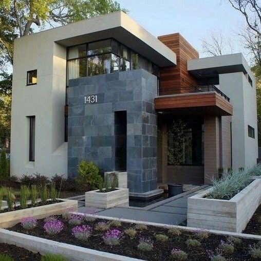18 Awe Inspiring Modern Home Exterior Designs That Look Casual: Awesome Contemporary Exterior Design Photos