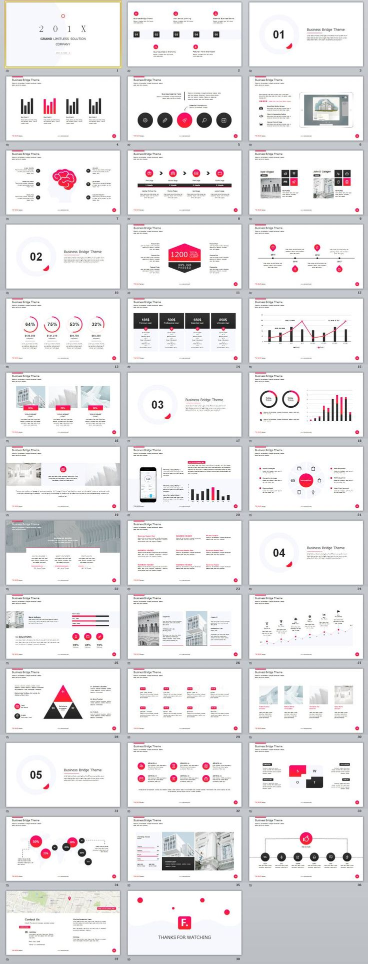 38+ Best Infographics company solution PowerPoint template