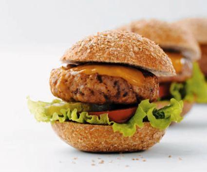 Mini hamburguesas de queso