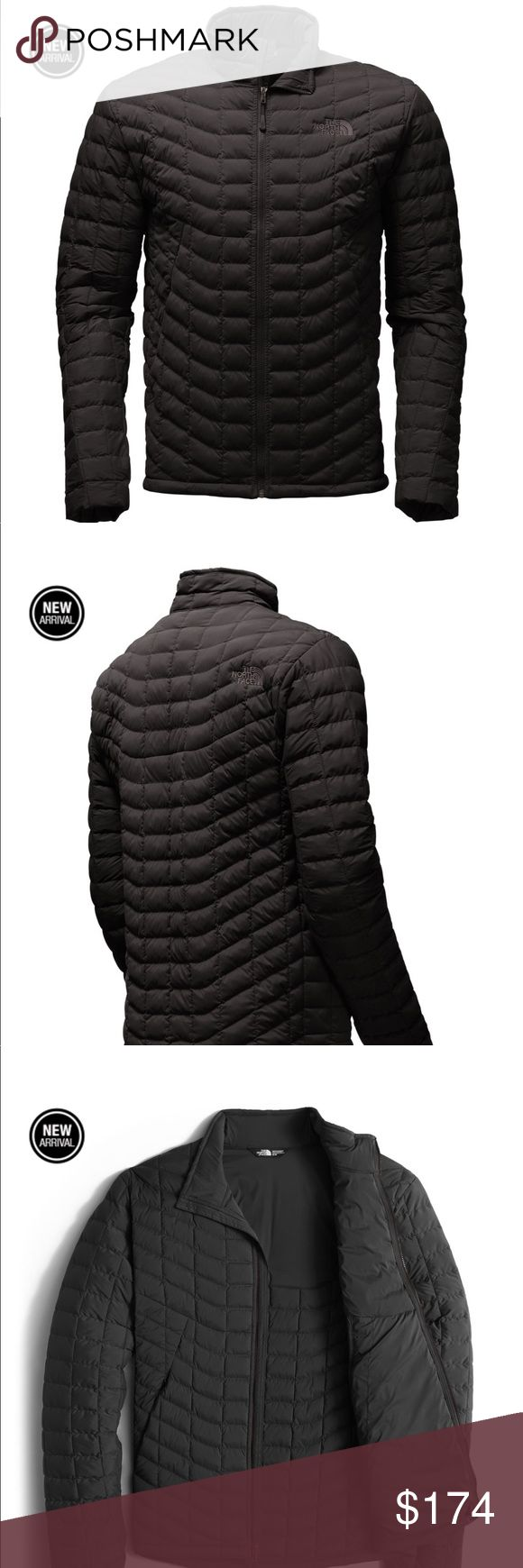 Men's Stretch Thermoball Jacket. Size M Just in time for the cold weather! Slim fit down filled Northface jacket in black. North Face Jackets & Coats Ski & Snowboard