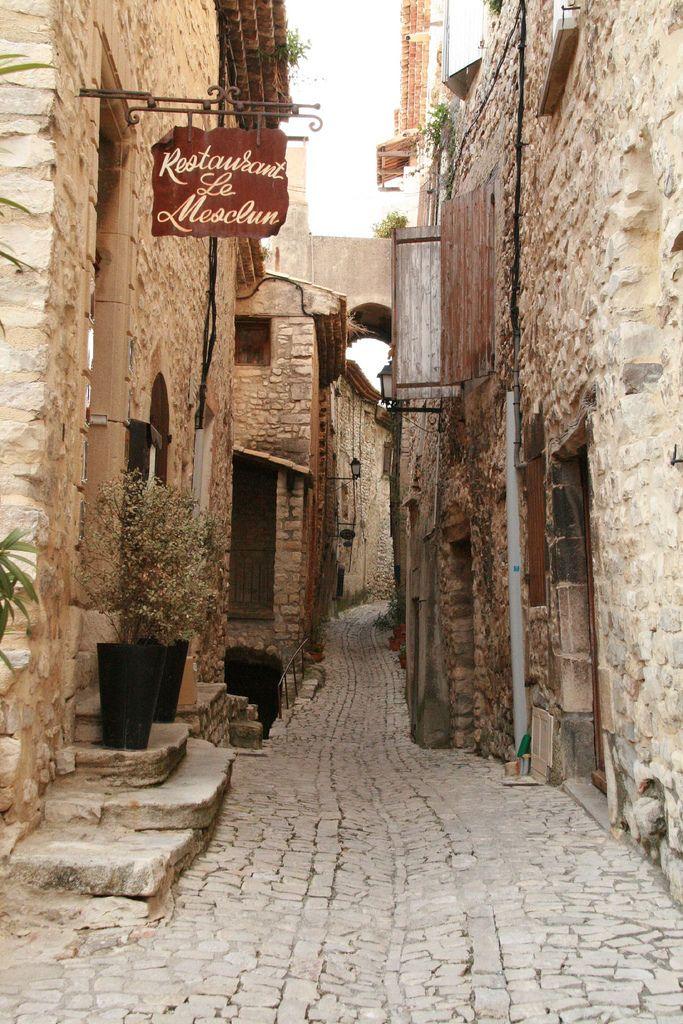 Seguret, Provence-Alpes-Cote d'Azur, France