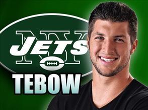 New York Jets Introduce New Quarterback: Tim Tebow