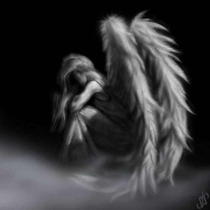 такого гиф картинка грустного ангела пюрированных