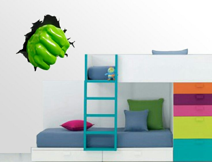 A new wall art sricker addition.  Great for any childrens bedrooms.