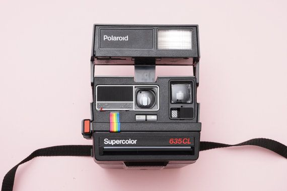 Polaroid 635 CL Supercolor 600 Instant Film Camera by ohsocult