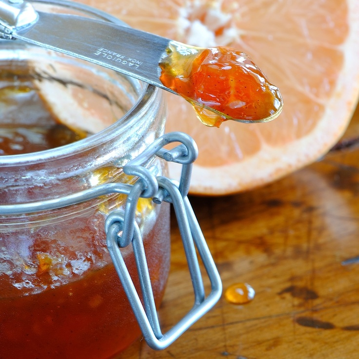 JULES FOOD...: Pamplemousse...aka Grapefruit Jam