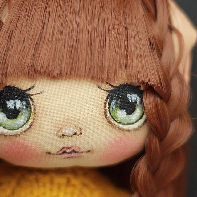 И портретик;) #кукла #куклаолли