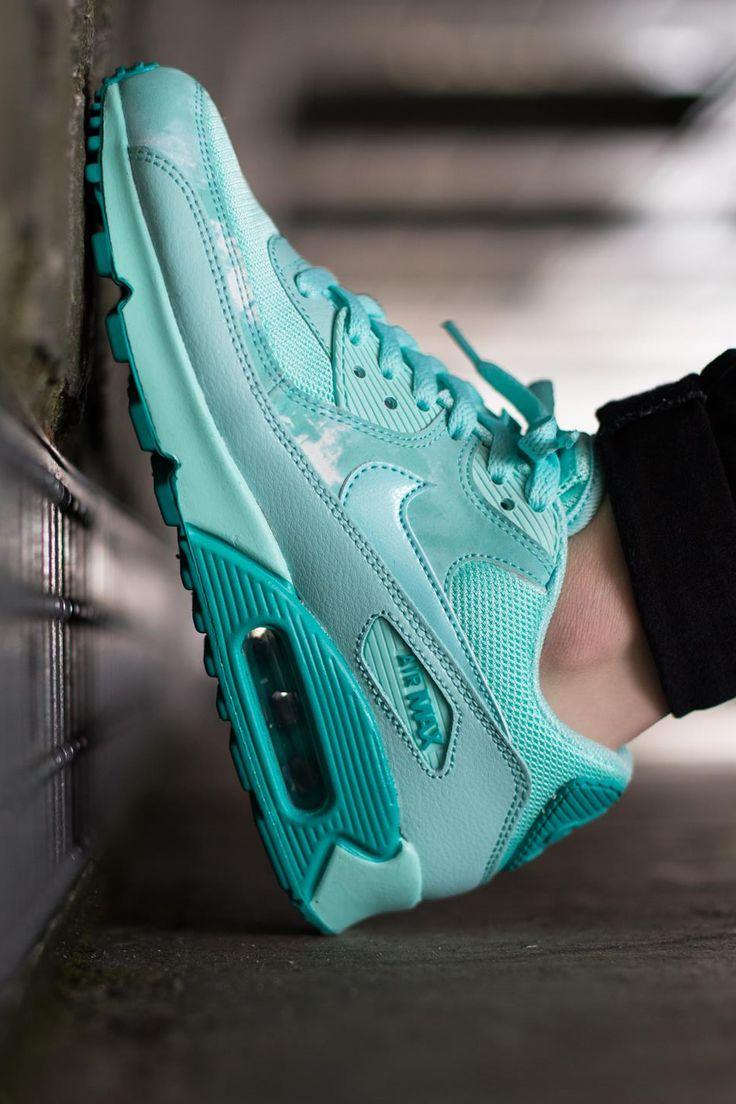 Nike Wmns Air Max 90 Print Artisan Teal http://sneakeraddict.net