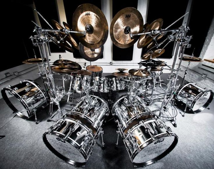 Terry Bozzio | Cool Drum Kits & Set-Ups | Pinterest ...