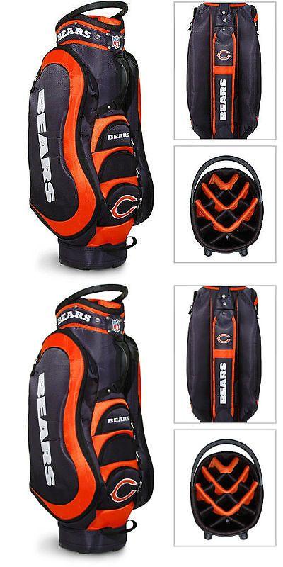 Golf Club Bags 30109: Authentic Nfl Chicago Bears Team Golf Medalist Cart Bag + Bonus -> BUY IT NOW ONLY: $167.95 on eBay!
