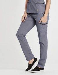 The Ladder Lace Pant - Graphite