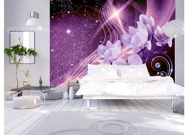 Vlies Fototapete, Tapete Blumen, Tapeten, Farben, Abstrakte, Wandkunst  Schlafzimmer, Schlafzimmerdeko, Wohnzimmer Tapete, Wandsticker
