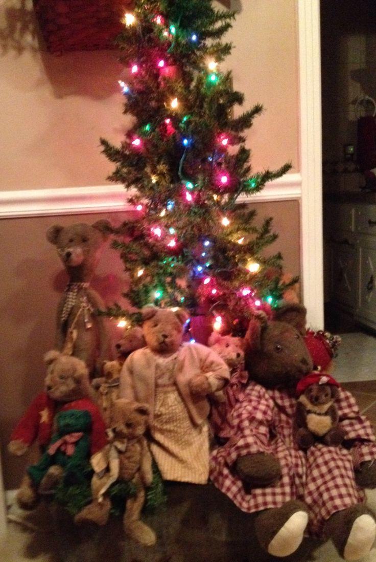 teddy bear christmas tree - Bear Christmas Tree