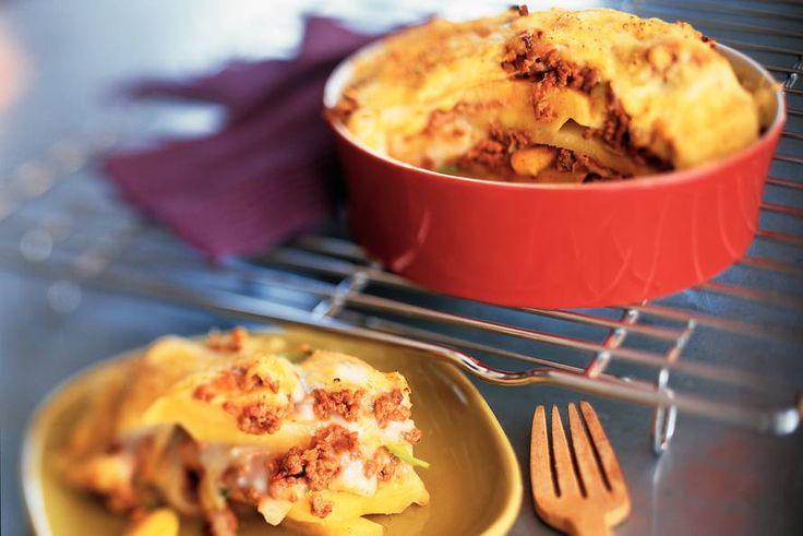 Lasagne van koolraap en prei - Recept - Allerhande