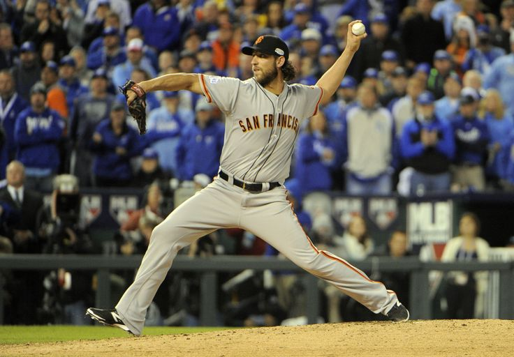 Madison Bumgarner: MVP of the World Series 2014. 52 2/3 innings. 1 point lost only. CRAZY stats! #SFGiants (USA TODAY Sports Images)