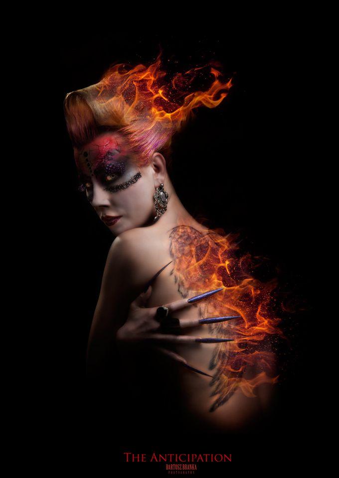 #Cassandra #nmodel #hair #makeup #stylisation Art Work Training Centere