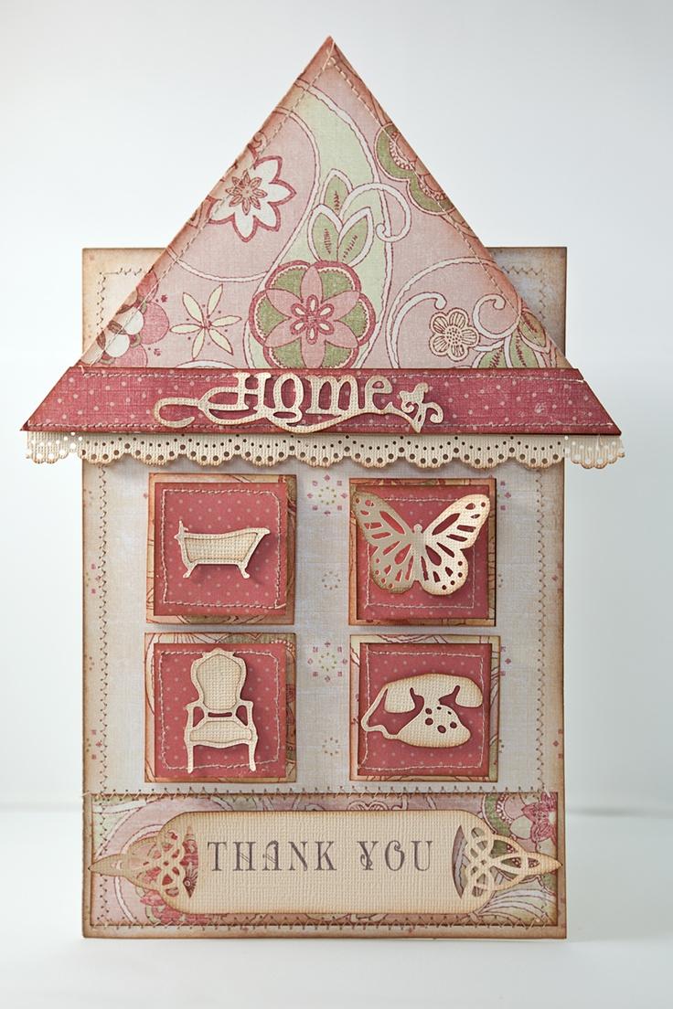 Card Making Ideas For Housewarming Part - 25: Handmade Cards. Housewarming ...