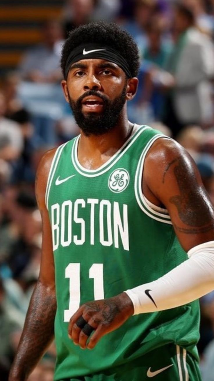 Kyrie Irving Boston Celtics Wallpaper Boston Celtics Basketball Kyrie Irving Celtics Celtics Basketball