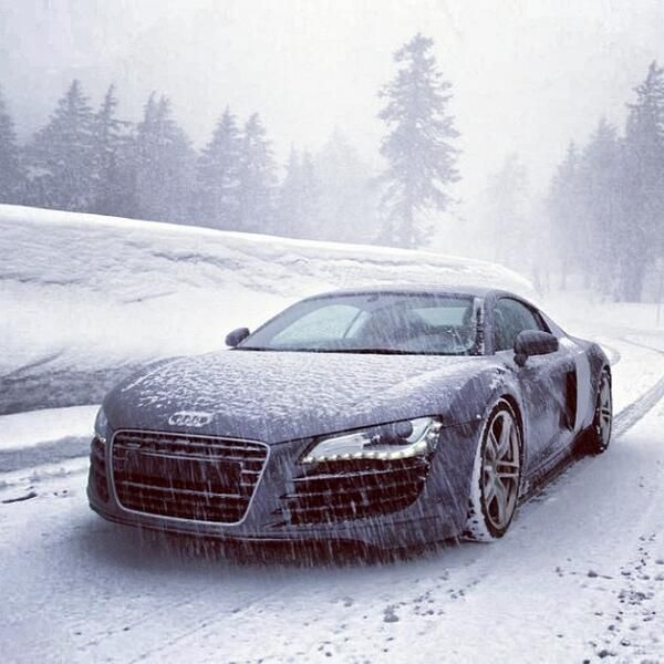 Yes Audi Can Handle The Ice And Snow With It's All Wheel