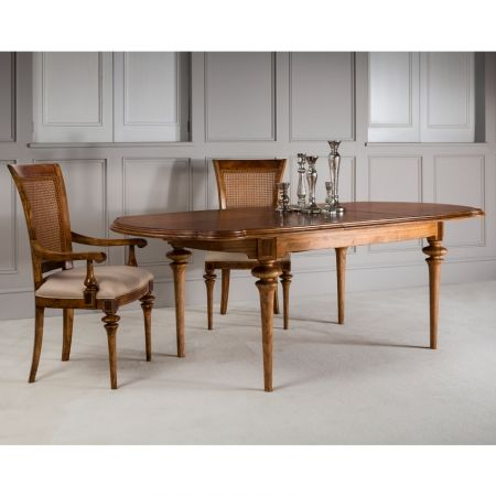 Frank Hudson Spire oval extending dining table finished in a rustic French style £1,488.00 Shop > http://www.beau-decor.co.uk/dining-room-furniture/frank-hudson-spire-oval-extending-dining-table