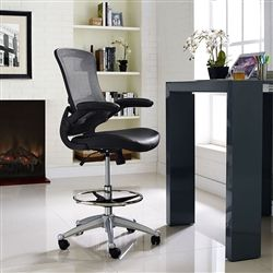 office drafting chair. Adjustable Home Office Drafting Chair With Foot Ring