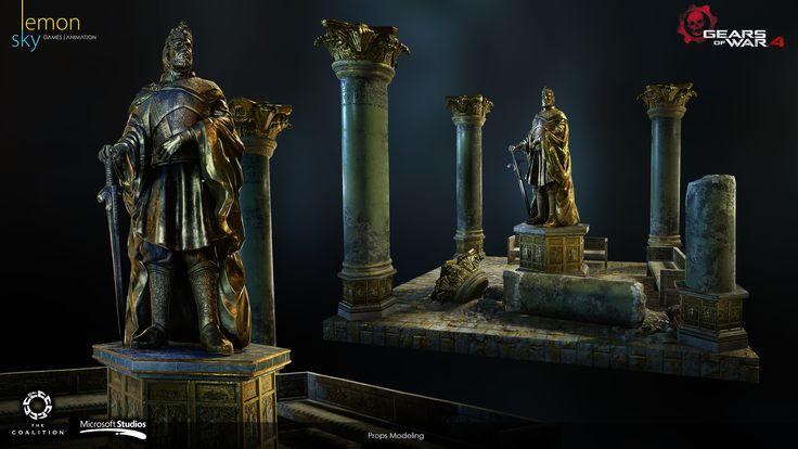 ArtStation - Gears of War 4 , Lemonsky Studio