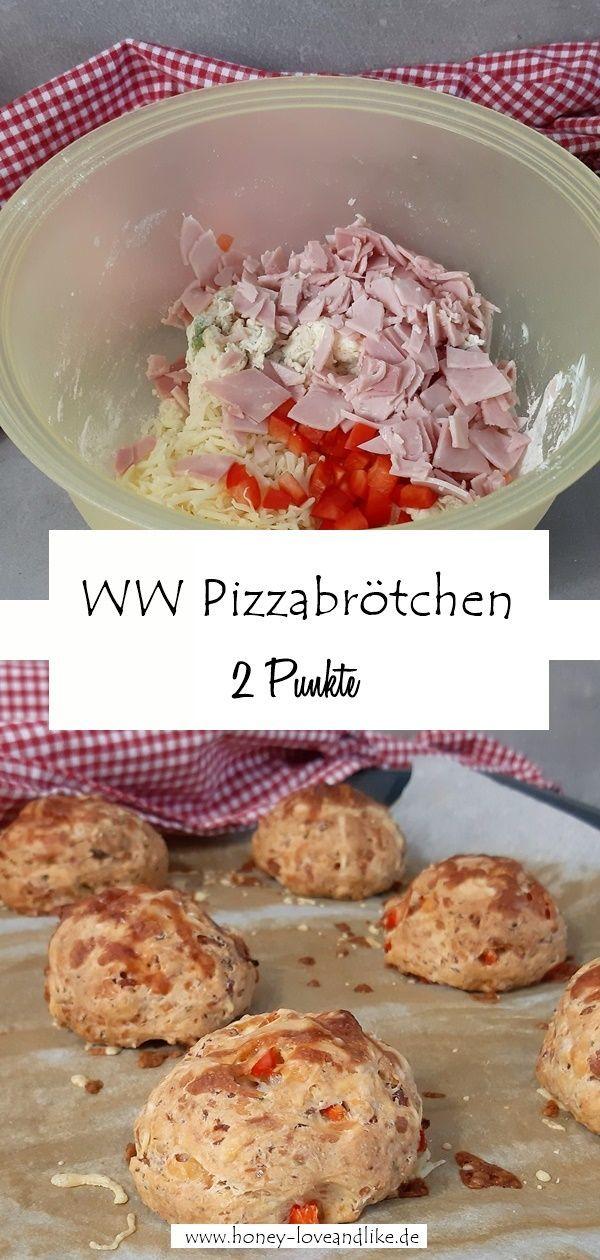 [Fingerfood & Fitness] Weight Watchers Pizzabrötchen! Die perfekte Grillbeilage