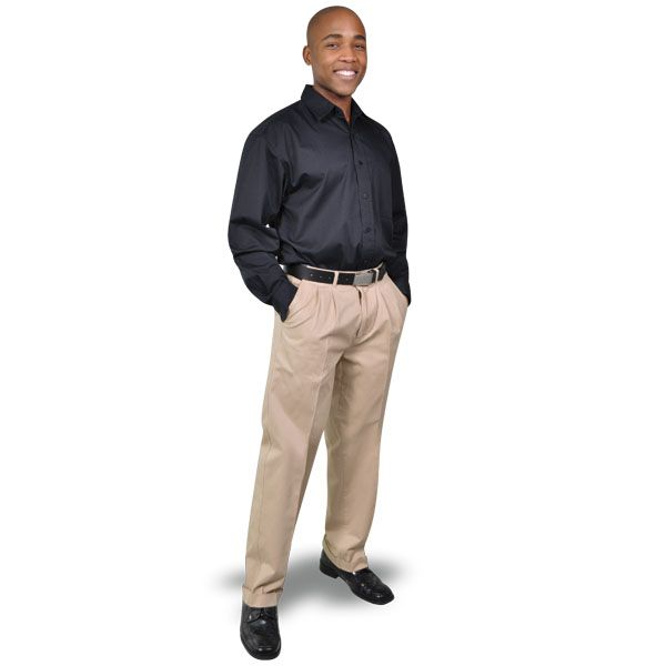 Cotton Chinos BRAND: OAKHURST Has superior quality fabric and top quality durable zip