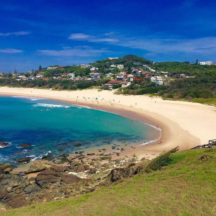 Lighthouse Beach Port Macquarie. The most beautiful beach I have ever been to! #midnorthcoast_best_photos #australia #scenery #picoftheday #PortMacquarie #abcnews_au #Australianbeach #coast by craftbyjen