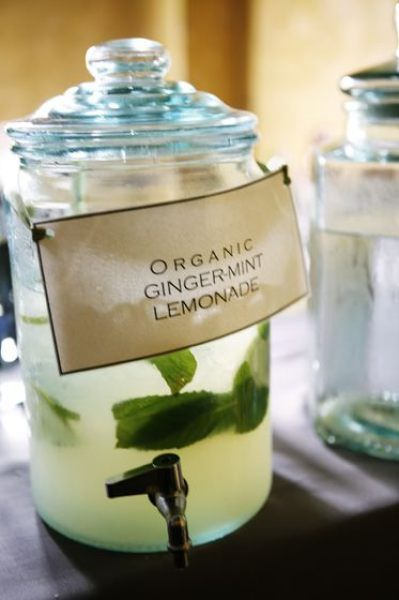 Ohh I got ginger mint lemonade from the farmer's market and it is the most delicious thing ever!