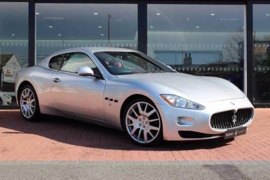 Used 2008 (08 reg) Silver Maserati Granturismo 4.2 for sale…