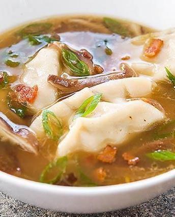 Dumpling Soup to keep you warm all winter long!