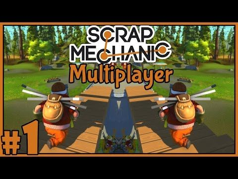 A New Home - Scrap Mechanic Multiplayer - Part 1 [Let's Play Scrap Mechanic Gameplay] - Best sound on Amazon: http://www.amazon.com/dp/B015MQEF2K - http://gaming.tronnixx.com/uncategorized/a-new-home-scrap-mechanic-multiplayer-part-1-lets-play-scrap-mechanic-gameplay/