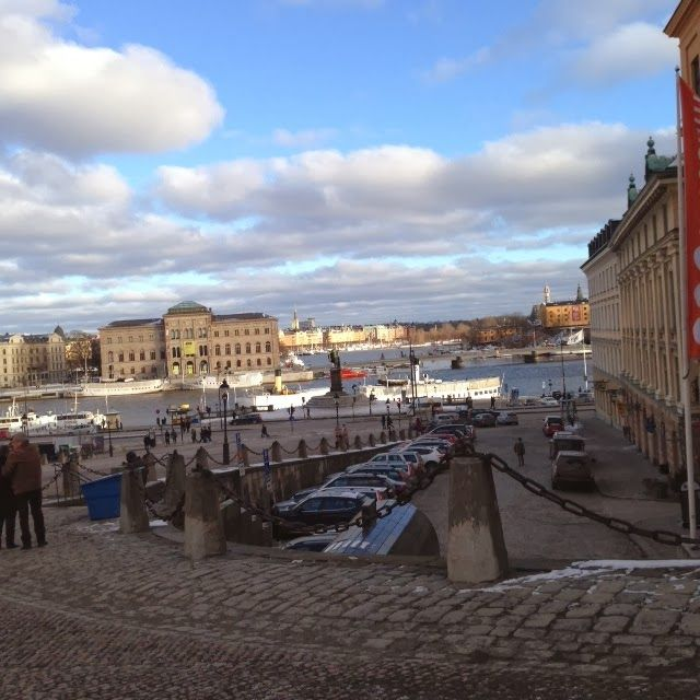 Becoming RAJE: Visiting Stockholm... A x