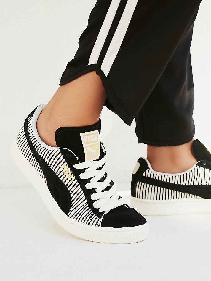 Puma Classic Stripes Trainer at Free People Clothing Boutique