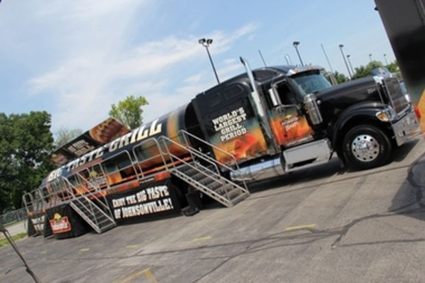 65-foot grill rolling into downtown Huntsville for college football kickoff event