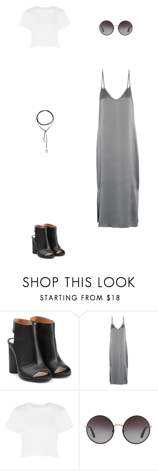 """""""Zoo Outfit"""" by lstar237 on Polyvore featuring Maison Margiela, Equipment, Topshop, Dolce&Gabbana and Vanessa Mooney"""