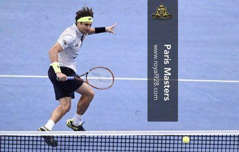 Agen Bola - David Ferrer berhasil lolos ke babak semi-final turnamen tenis Paris Masters setelah menundukkan petenis peringkat 13 dunia John Isner pada pertandingan perempat-final yang baru saja selesai diselenggarakan di AccorHotels Arena Paris.