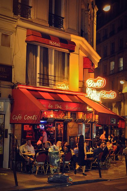 paris nightlife by derekwilliams2013 on Flickr