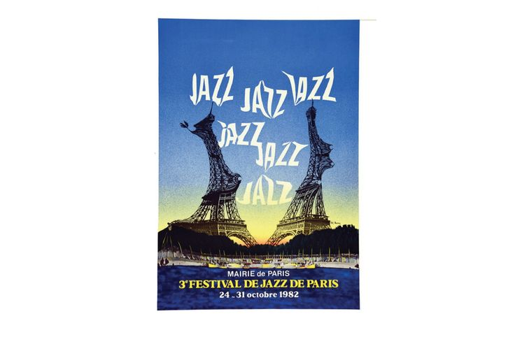 JAZZ JAZZ JAZZ 3EME FESTIVAL DE JAZZ DE PARIS OCTOBRE 1982