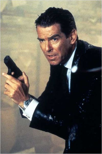 Le Monde ne suffit pas : photo Michael Apted, Pierce Brosnan