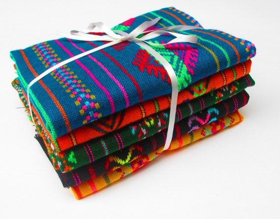 Hey, I found this really awesome Etsy listing at https://www.etsy.com/listing/162028736/aztec-fabric-mexican-fabric-bundle