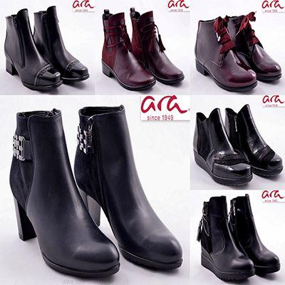 Ara női bokacipők kiváló kényelmet nyújtanak és a szürke őszi napokban is divatosan öltözhet! Minden Ara cipőt minőségileg ellenőriznek, így csak a legtökéletesebb Ara lábbelik kerülnek forgalomba, a Valentina Cipőboltokba és webáruházunkba! Várjuk nagy szeretettel 😉  http://valentinacipo.hu/kereso/marka/ara-22  #ara #aracipő #aracipőbolt #arawebshop #Valentinacipőboltok