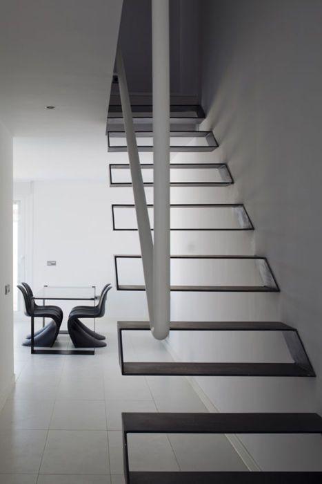 Escalera Casa Syntes en Pinto | dosmasunoarquitectos