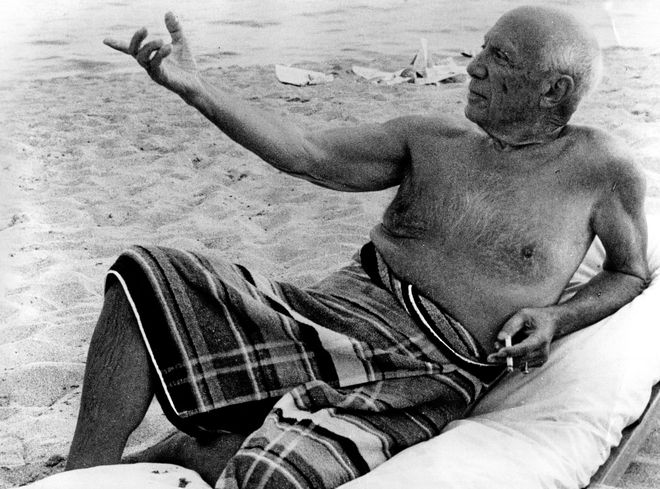 picasso: photographic biography-    Pablo Picasso, the most important artist of the twentieth century, changed every 10 years of artistic style, of woman and dog, according to his biographer John Richardson.